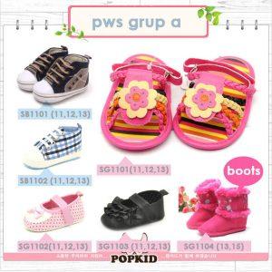 prewalker shoes sepatu bayi baru lahir grup a