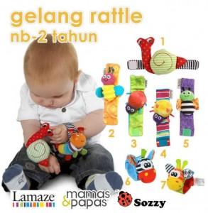gelang bayi rattle