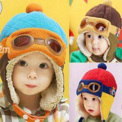 topi pilot anak